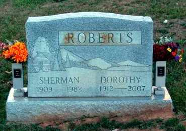 ROBERTS, SHERMAN - Meigs County, Ohio | SHERMAN ROBERTS - Ohio Gravestone Photos