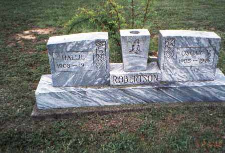 BRADBURY ROBERTSON, HALLIE - Meigs County, Ohio | HALLIE BRADBURY ROBERTSON - Ohio Gravestone Photos