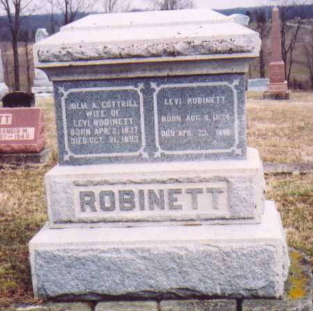 ROBINETTE, JULIA A. - Meigs County, Ohio | JULIA A. ROBINETTE - Ohio Gravestone Photos