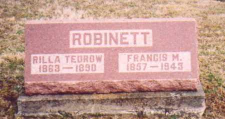 ROBINETTE, RILLA - Meigs County, Ohio | RILLA ROBINETTE - Ohio Gravestone Photos