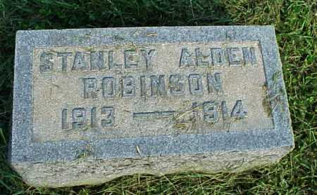 ROBINSON, STANLEY ALDEN - Meigs County, Ohio | STANLEY ALDEN ROBINSON - Ohio Gravestone Photos