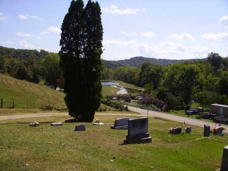 ROBISON CEMETERY, VIEW - Meigs County, Ohio | VIEW ROBISON CEMETERY - Ohio Gravestone Photos