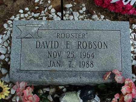 ROBSON, DAVID E. - Meigs County, Ohio | DAVID E. ROBSON - Ohio Gravestone Photos