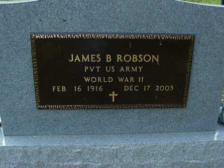 ROBSON, JAMES B. - Meigs County, Ohio | JAMES B. ROBSON - Ohio Gravestone Photos