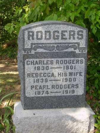RODGERS, PERAL - Meigs County, Ohio | PERAL RODGERS - Ohio Gravestone Photos