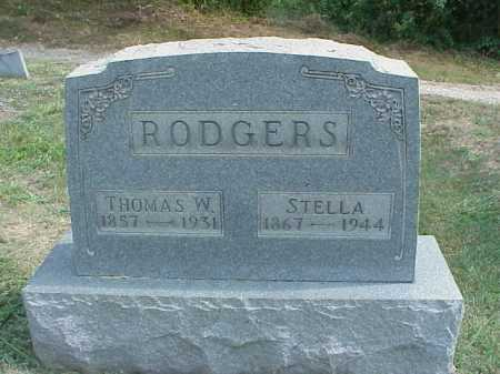 RODGERS, STELLA - Meigs County, Ohio | STELLA RODGERS - Ohio Gravestone Photos