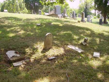 ROGERS, PLOT - FALLEN STONES - Meigs County, Ohio   PLOT - FALLEN STONES ROGERS - Ohio Gravestone Photos