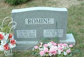 ROMINE, CHARLES H. - Meigs County, Ohio | CHARLES H. ROMINE - Ohio Gravestone Photos