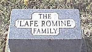 ROMINE, FAMILY OF - Meigs County, Ohio | FAMILY OF ROMINE - Ohio Gravestone Photos