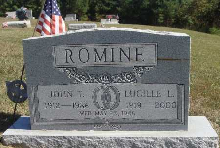 QUEEN ROMINE, LUCILLE LORAINE - Meigs County, Ohio | LUCILLE LORAINE QUEEN ROMINE - Ohio Gravestone Photos