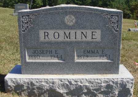 JOHNSON ROMINE, EMMA E. - Meigs County, Ohio | EMMA E. JOHNSON ROMINE - Ohio Gravestone Photos