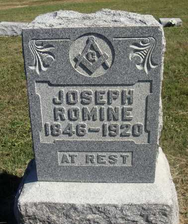 ROMINE, JOSEPH - Meigs County, Ohio | JOSEPH ROMINE - Ohio Gravestone Photos