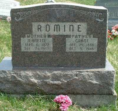 "ROMINE, ELIAS ""GRANT"" - Meigs County, Ohio 