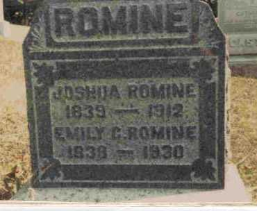 ROMINE, JOSHUA - Meigs County, Ohio | JOSHUA ROMINE - Ohio Gravestone Photos