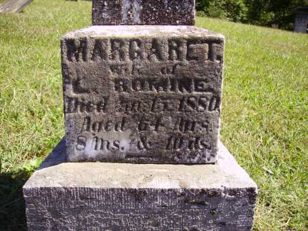 WEBB ROMINE, MARGARET - CLOSE VIEW - Meigs County, Ohio | MARGARET - CLOSE VIEW WEBB ROMINE - Ohio Gravestone Photos