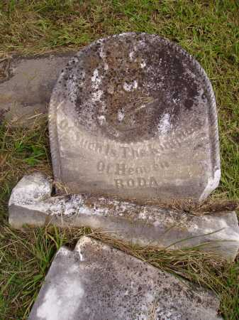 ROMINE, RODA - VIEW 1 - Meigs County, Ohio | RODA - VIEW 1 ROMINE - Ohio Gravestone Photos