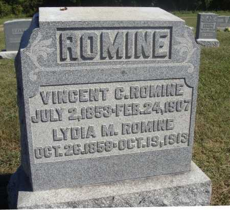 MORTON ROMINE, LYDIA M. - Meigs County, Ohio | LYDIA M. MORTON ROMINE - Ohio Gravestone Photos