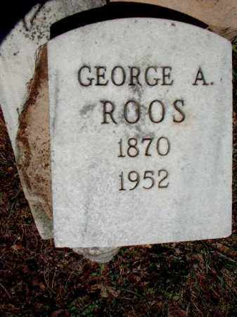 ROOS, GEORGE A. - Meigs County, Ohio | GEORGE A. ROOS - Ohio Gravestone Photos