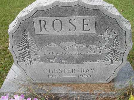 ROSE, CHESTER RAY - Meigs County, Ohio | CHESTER RAY ROSE - Ohio Gravestone Photos