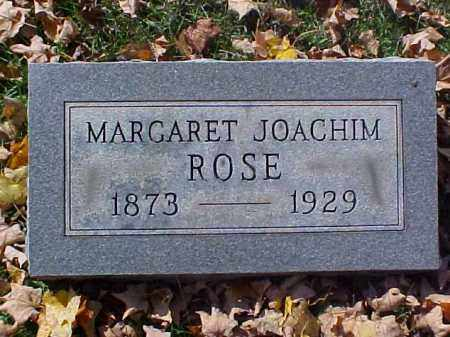 JOACHIM ROSE, MARGARET - Meigs County, Ohio | MARGARET JOACHIM ROSE - Ohio Gravestone Photos