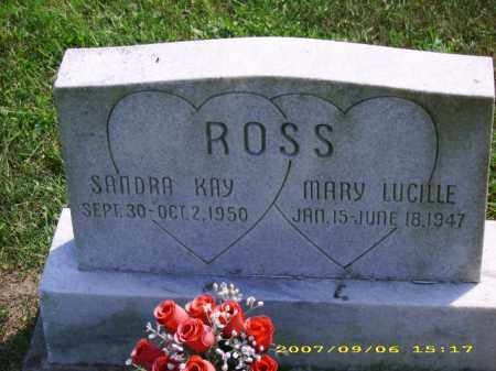 ROSS, MARY LUCILLE - Meigs County, Ohio | MARY LUCILLE ROSS - Ohio Gravestone Photos
