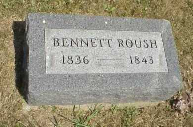 ROUSH, BENNETT - Meigs County, Ohio | BENNETT ROUSH - Ohio Gravestone Photos