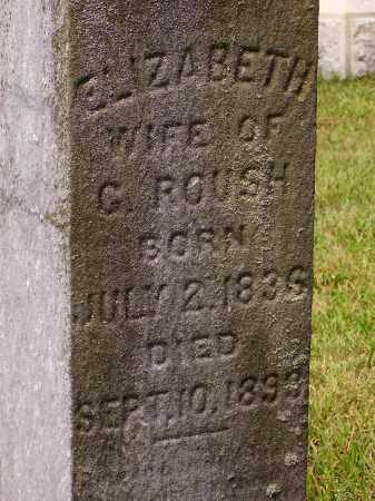 ROUSH, ELIZABETH - Meigs County, Ohio | ELIZABETH ROUSH - Ohio Gravestone Photos