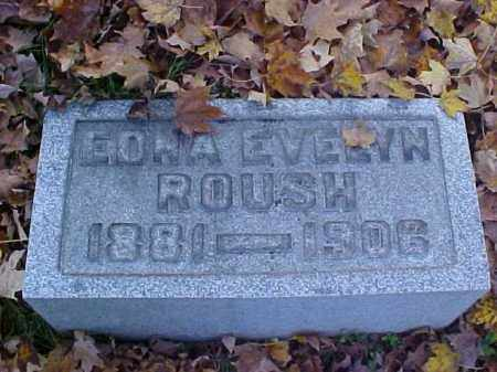 ROUSH, EDNA EVELYN - Meigs County, Ohio | EDNA EVELYN ROUSH - Ohio Gravestone Photos