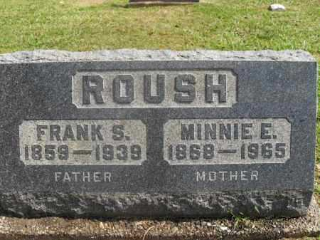 ROUSH, ARMINTA MINNIE E. - Meigs County, Ohio | ARMINTA MINNIE E. ROUSH - Ohio Gravestone Photos