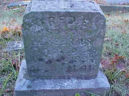 ROUSH, FRED E. - Meigs County, Ohio | FRED E. ROUSH - Ohio Gravestone Photos