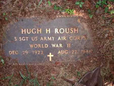 ROUSH, HUGH H. - Meigs County, Ohio | HUGH H. ROUSH - Ohio Gravestone Photos