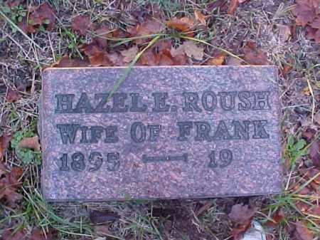 ROUSH, HAZEL E. - Meigs County, Ohio   HAZEL E. ROUSH - Ohio Gravestone Photos