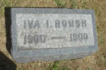 ROUSH, IVA I. - Meigs County, Ohio | IVA I. ROUSH - Ohio Gravestone Photos