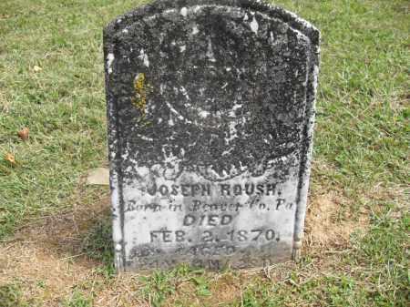 ROUSH, JOSEPH - Meigs County, Ohio | JOSEPH ROUSH - Ohio Gravestone Photos