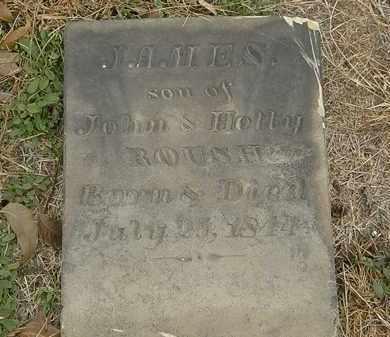ROUSH, JAMES - Meigs County, Ohio | JAMES ROUSH - Ohio Gravestone Photos