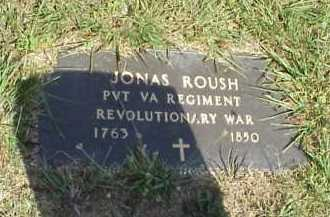 ROUSH, JONAS - Meigs County, Ohio | JONAS ROUSH - Ohio Gravestone Photos