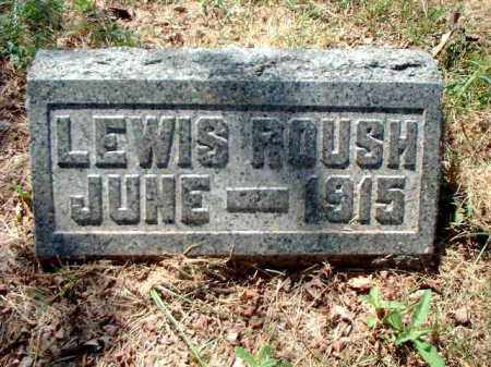 ROUSH, LEWIS - Meigs County, Ohio | LEWIS ROUSH - Ohio Gravestone Photos