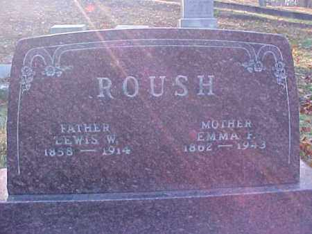 ROUSH, EMMA F. - Meigs County, Ohio | EMMA F. ROUSH - Ohio Gravestone Photos