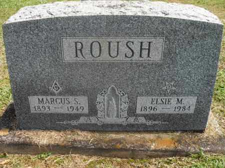 MORRIS ROUSH, ELSIE - Meigs County, Ohio | ELSIE MORRIS ROUSH - Ohio Gravestone Photos