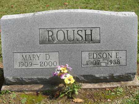 ROUSH, MARY D - Meigs County, Ohio | MARY D ROUSH - Ohio Gravestone Photos