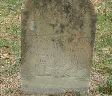 ROUSH, MARY M. - Meigs County, Ohio | MARY M. ROUSH - Ohio Gravestone Photos