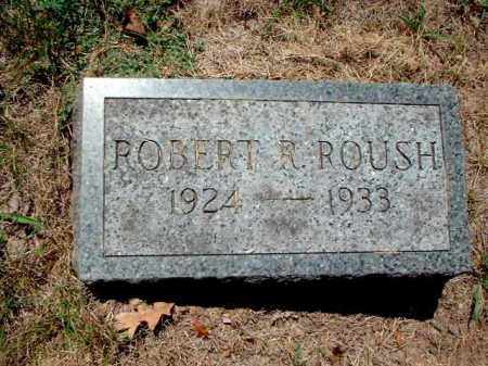 ROUSH, ROBERT R. - Meigs County, Ohio | ROBERT R. ROUSH - Ohio Gravestone Photos