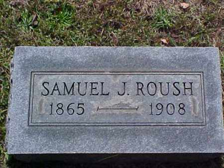 ROUSH, SAMUEL J. - Meigs County, Ohio | SAMUEL J. ROUSH - Ohio Gravestone Photos