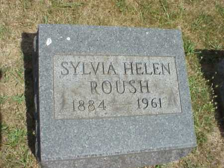 ROUSH, SYLVIA HELEN - Meigs County, Ohio | SYLVIA HELEN ROUSH - Ohio Gravestone Photos