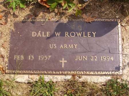ROWLEY, DALE W. - Meigs County, Ohio | DALE W. ROWLEY - Ohio Gravestone Photos