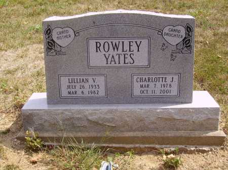 ROWLEY, LILLIAN V. - Meigs County, Ohio | LILLIAN V. ROWLEY - Ohio Gravestone Photos