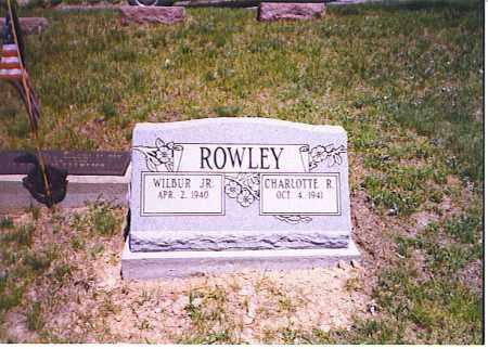 ROWLEY, WILBUR H. - Meigs County, Ohio | WILBUR H. ROWLEY - Ohio Gravestone Photos