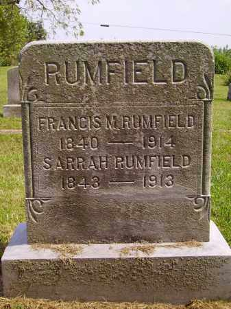 RUMFIELD, SARRAH - Meigs County, Ohio | SARRAH RUMFIELD - Ohio Gravestone Photos