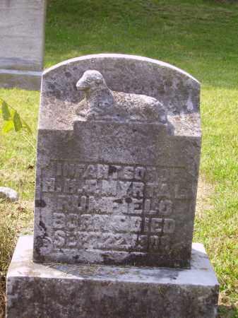 RUMFIELD, INFANT SON - Meigs County, Ohio   INFANT SON RUMFIELD - Ohio Gravestone Photos