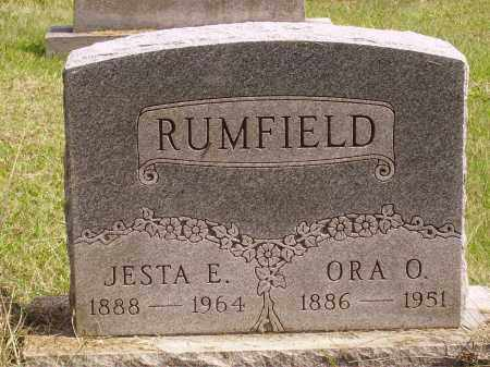 RUMFIELD, JESTA E. - Meigs County, Ohio | JESTA E. RUMFIELD - Ohio Gravestone Photos